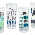 Beatles Theme Glass Set