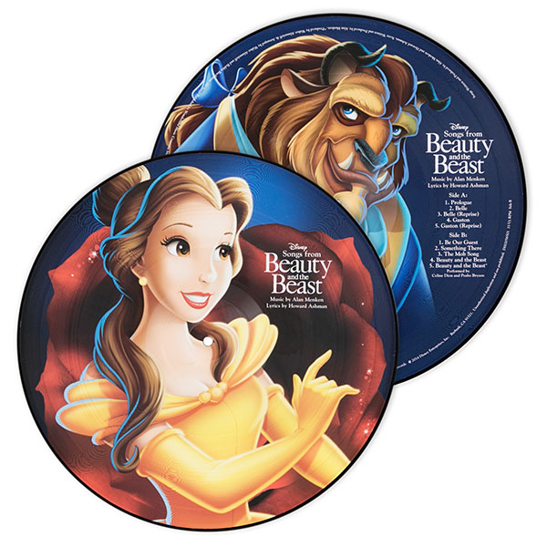 Beauty and the Beast Picture Vinyl LP