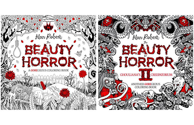 Beauty Of Horror Coloring Books