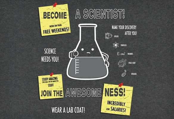 Become A Scientist T Shirt