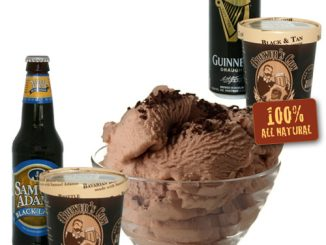 Beer Infused Ice Cream Pints