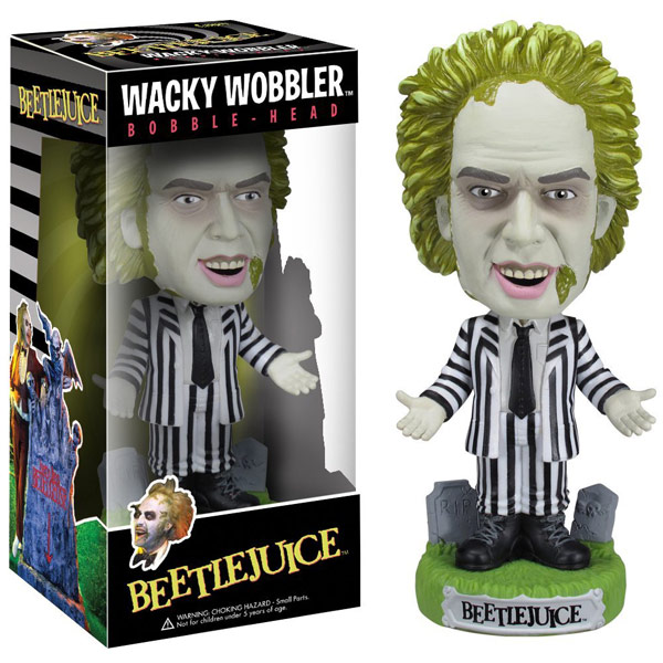 Beetlejuice Bobble Head Wacky Wobbler