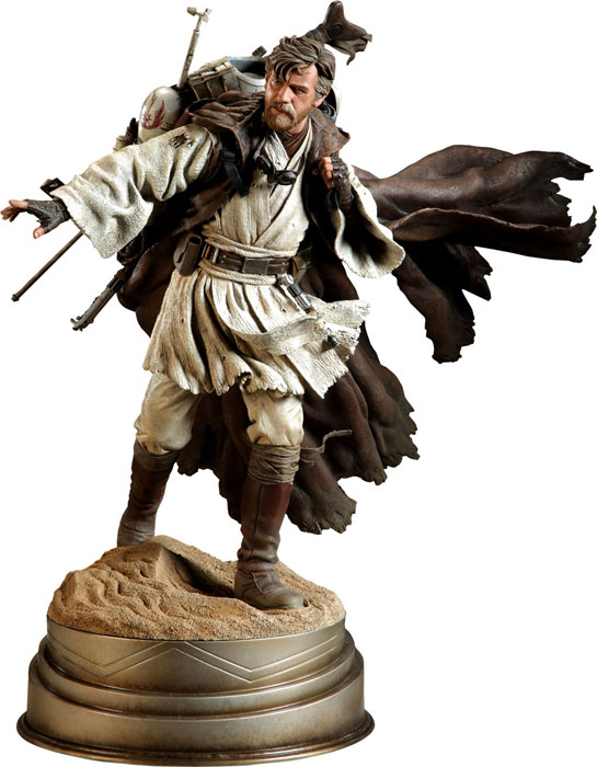 Ben Kenobi Mythos Polystone Statue