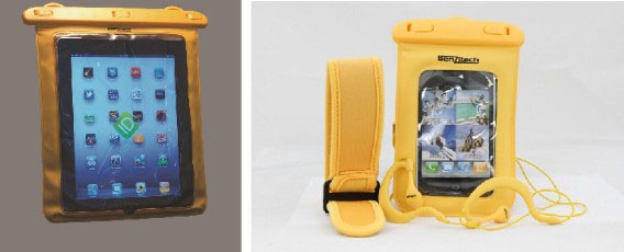 Benzitech's New Waterproof Smartphone and Tablet Cases