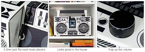 Berlin Boombox for iphone