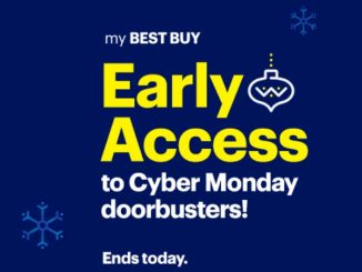 Best Buy Cyber Monday Doorbuster Early Access