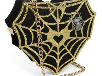 Betsey Johnson Web Surfer Crossbody Purse
