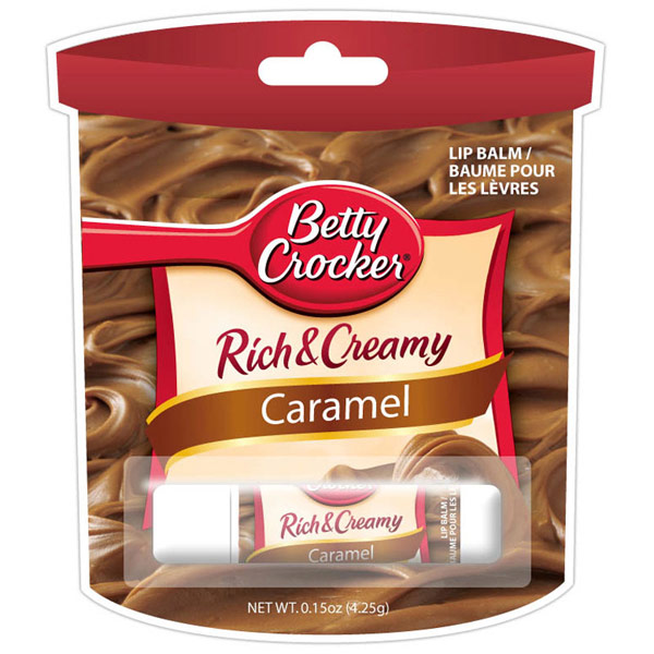 Betty Crocker Caramel Frosting Lip Balm