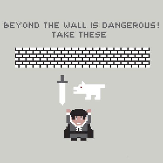 Beyond the Wall Game of thrones & Zelda Mashup