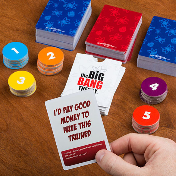 Big Bang Theory Bazinga! Board Game