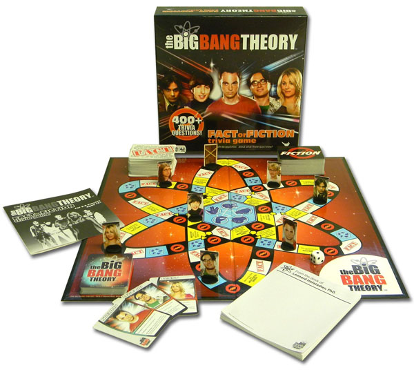 Big Bang Theory Fact or Fiction Trvia Game