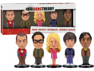 Big Bang Theory Mini Wacky Wobbler Set