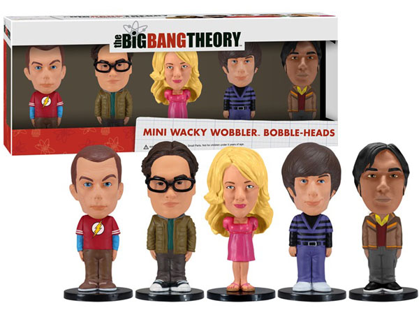 Big Bang Theory Mini Wacky Wobbler Set