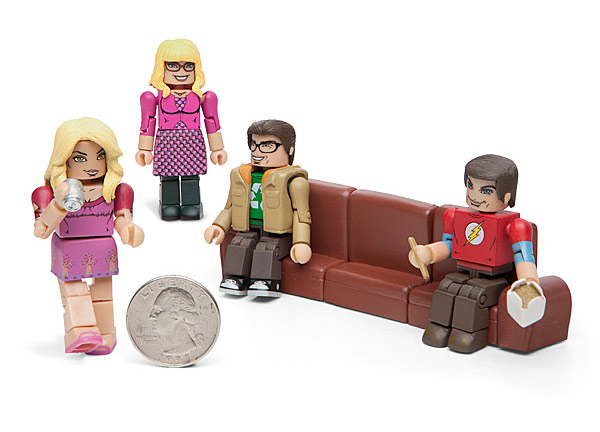 Big Bang Theory Minimate Figures