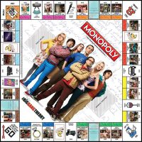 Big Bang Theory Monopoly Board