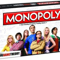 Big Bang Theory Monopoly Box