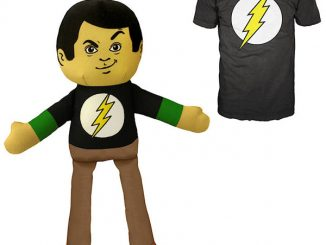 Big Bang Theory Sheldon Plush with Matching Shirt