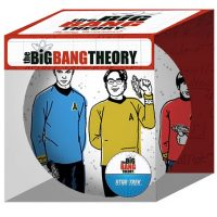 Big Bang Theory Star Trek Cast Holiday Ball Ornament