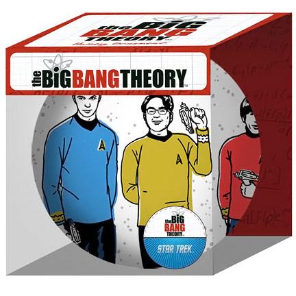 Big Bang Theory Star Trek Cast Holiday Ball Ornament