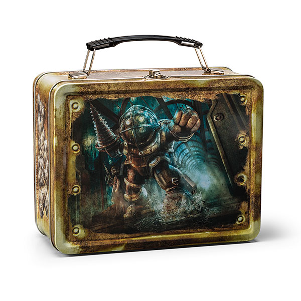 Картинки по запросу Lunchboxes & Carry All Tins - Bioshock - Big Daddy