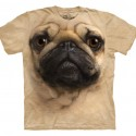 Big Face Pug T-Shirt