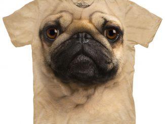 Big Face Pug T-Shirt