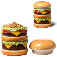 Big Mouth Toys Cheeseburger Cookie Jar