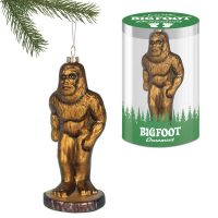 Bigfoot Glass Ornament