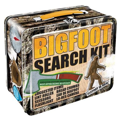 Bigfoot Search Kit Lunch Box