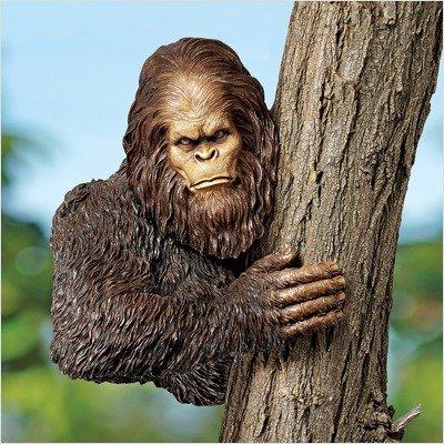 Bigfoot Tree Yeti Sculpture
