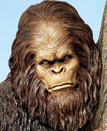 Bigfoot Yeti Yard Sculpture