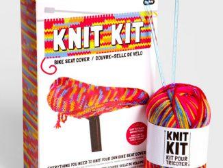 Bike Seat Cover Knitting Kit