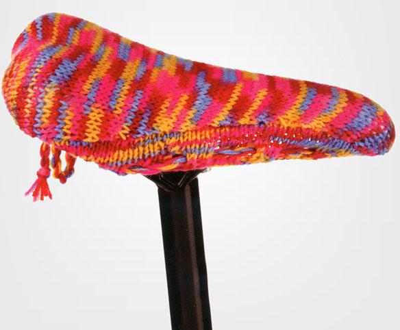 Bike Seat Knitting Kit