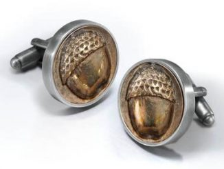 Bilbo Baggin's Button Cufflinks