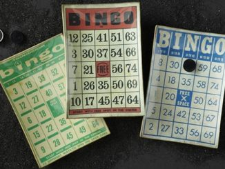 Bingo Card Plate