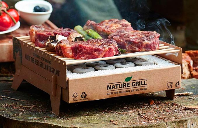 Biodegradable Instant BBQ