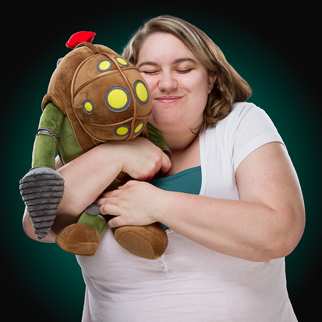 Bioshock Big Daddy 17in Plush