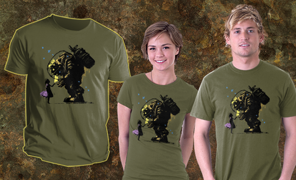 Bioshock Ill Always Protect You T-Shirt