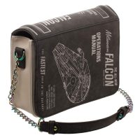 Bioworld Star Wars Millennium Falcon Operations Manual Purse