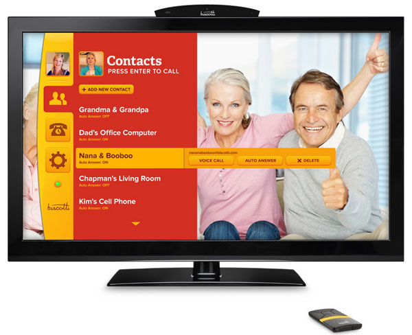 Biscotti TV Phone