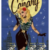 Black Canary DC Comics Bombshell Poster