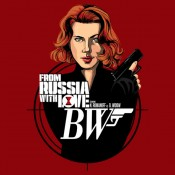 Black Widow From Russia with Love Shirt