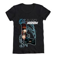 Black Widow Gun T-Shirt