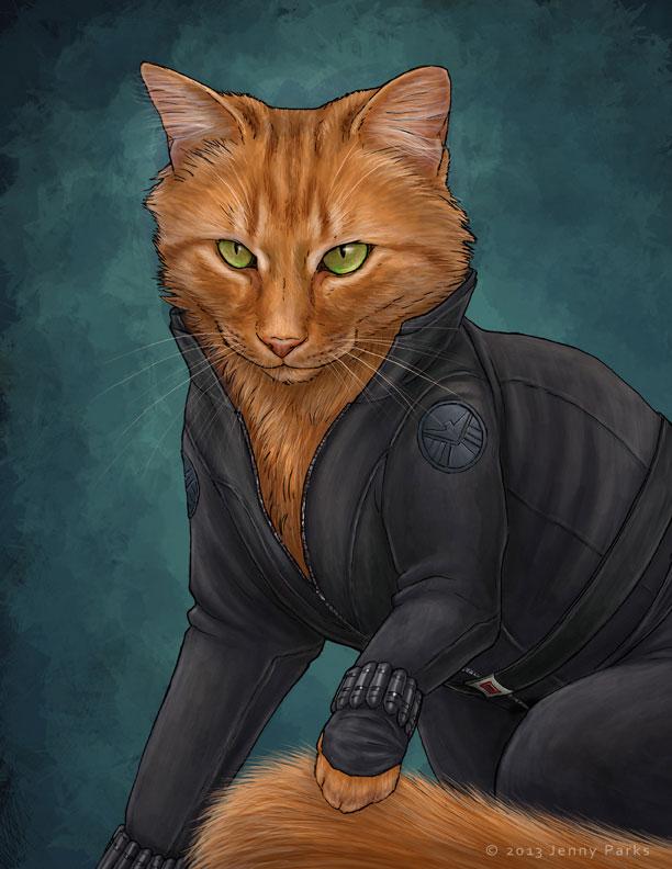 Black Widow Kitty
