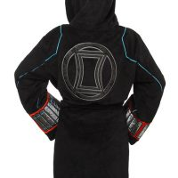 Black Widow Ladies Fleece Robe