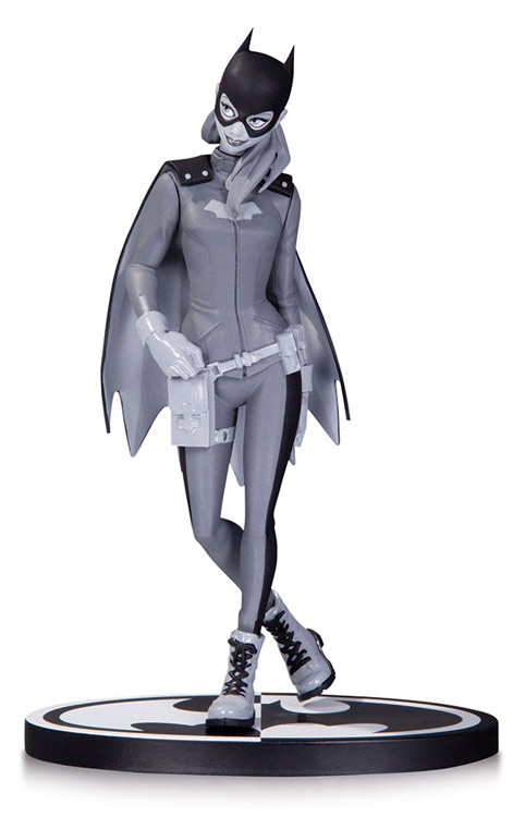 Black and White Batgirl by Babs Tarr Statue