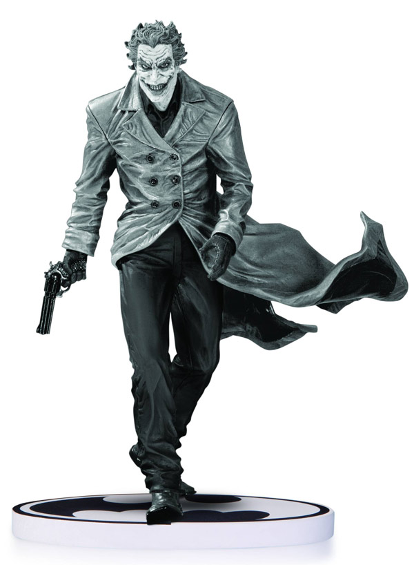 Black-and-White Lee Bermejo Joker Second Edition Statue