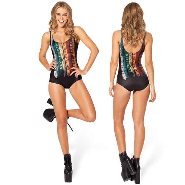 5eb812127eb Snape Attack Shift Dress BlackMilk Harry Potter Hogwarts Collection All  Houses Swimsuit