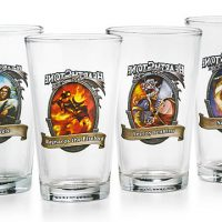 Blizzard HearthStone Pint Glass Set