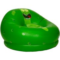 BloChair Rick and Morty Pickle Rick Inflatable Chair